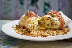 Make a Grown Man Cry Breakfast Burrito at The Shack www.shackstl.com @TheShack_STL on Instagram
