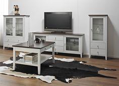 Laulumaa Huonekalut - Olohuone - Laulumaa Sara® - valkoinen / pähkinä Decor, Furniture, Home Decor, Office Desk, Office, Desk