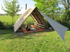 It Dreamlân Vakantiehuis Friesland en kleine camping Lauwersmeer