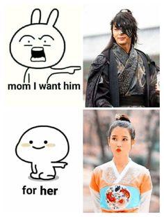 Korean Drama Funny, Korean Drama Best, Korean Drama Quotes, Funny Kid Memes, Funny Kids, Celebrity Memes, Drama Fever, Kdrama Memes, Scarlet Heart