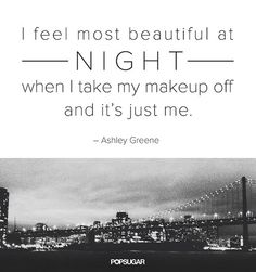 25 Pinnable Beauty Quotes to Inspire You: Say cheese!: Being simply you is a beautiful thing.