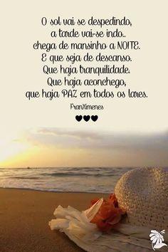 Haja Paz.!... Uma boa noite para todos... e que o dia de amanhã seja um dia de alegria e bem estar.!...