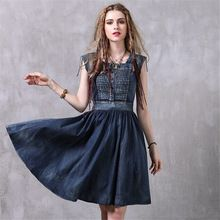 {Get it here ---> https://tshirtandjeans.store/products/high-quality-2017-summer-denim-dress-women-vintage-folds-slim-jeans-dresses-elegant-personality-casual-female-dress-vestidos/|    Most recent arriving High Quality 2017 Summer Denim Dress Women Vintage Folds Slim jeans dresses Elegant Personality Casual Female dress vestidos now available $US $39.99 with free shipping  there are various this kind of piece and also a lot more at our favorite on-line store      Purchase it now on this…