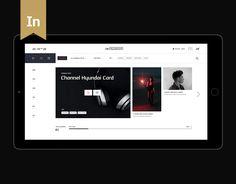 """다음 @Behance 프로젝트 확인: """"Channel Hyundai Card"""" https://www.behance.net/gallery/54531077/Channel-Hyundai-Card"""