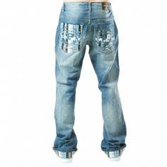 Phat Farm Herren Hose Denim Pant Jeans Hose