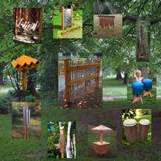 Company specializing in natural playscapes, both design and products. Good source of ideas and research on natural playground.