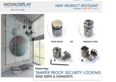 Nova Display Tamper Proof Locking System