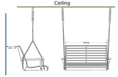 How To Properly Hang A Porch Swing; Hand swing in the gazebo?