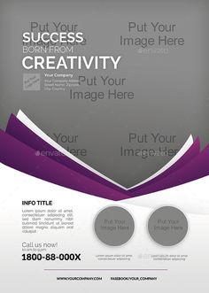 >>TRI-FOLD VERSION available here<<  Flyer templates designed exclusively for corporate, business, sales or any of use. Fully editable, image/logo can be quickly added or replaced in smart objects...