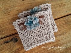 Pattern - Ribbons and Grace Ladies Bootcuffs - Kirsten Holloway Designs