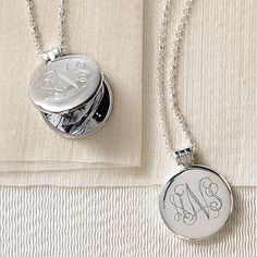 A vintage locket with space for Baby's photo makes for a touching, thoughtful baby shower gift!