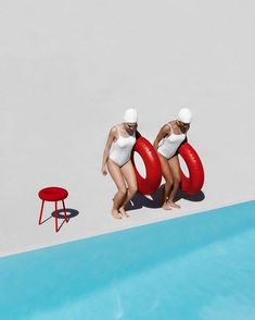 A doughnut-inspired stool by Japanese designer Mikiya Kobayashi brings a spark of humour and good fun by the swimming pool. Editorial Photography, Art Photography, Fashion Photography, Creative Photography, Contemporary Photography, Photography School, Photography Courses, Photo Portrait, Photo Art