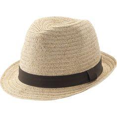 Getaway essential: Straw Fedora $9 #springfashion