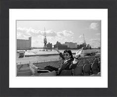 Framed Print of Electronic Music - France - Jean-Michel Jarre - London Docklands - 1988