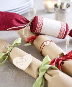 Free Christmas Decorations to Make | Christmas crackers to make :: Christmas craft ideas :: allaboutyou.com