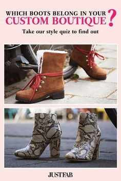 Your style is unique and your shopping experience should be, too. Take a quick style quiz and we'll curate a personalized boutique full of fall boots you'll love. Become a VIP and get exclusive, member-only prices, access to private sales and free shipping on all orders over $39. Get Your First Style For $10