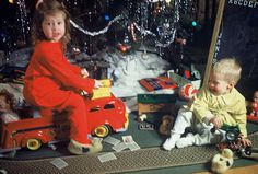 """""""That's my firetruck,"""" Christmas day 1950 