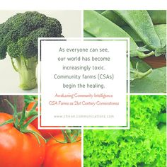 Make our #land  and our #food #healthy again Google+ #CSA #farms
