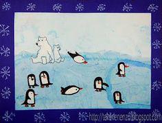 Pinguïns op het ijs