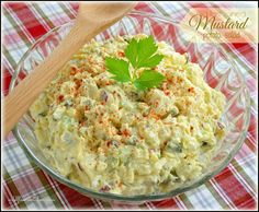 Old-Fashioned Mustard Potato Salad