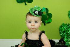 St. Patrick's Day Mini Top Hat  - Alice in Wonderland  - Photo Prop - Irish - Kiss Me. $26.00, via Etsy.