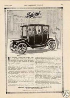 Detroit Electric Car (1913)