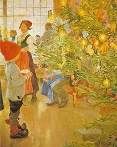 The Athenaeum - Now it's Christmas again (Carl Larsson - )