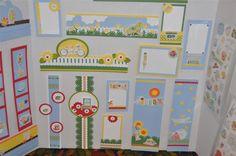 Creative Memories classic summer borders by Meg Cheesman. #borders #scrapbooking #summer