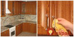 Tomuto lacnému triku na odmastenie kuchynskej linky som veľmi neverila, ale skúsila som a teraz odporúčam kade chodím: Odstráni to aj zažratú mastnotu! Interior Design Living Room, Kitchen Cabinets, Food And Drink, Good Things, Cleaning, Home Decor, Ds, Origami, Bedroom Ideas