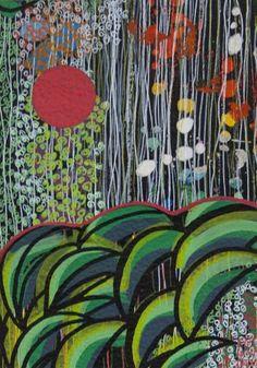"Saatchi Art Artist Virginie Gallois; Drawing, ""Oekoumène #1"" #art"