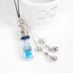 Hourglass jewelry phone pendant