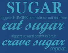 5 ways to kick the sugar addiction: chew gum, opt for fruit, remove temptation, give it up cold turkey, modify your diet