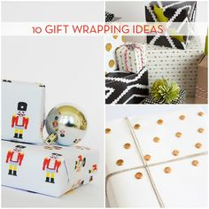 Let the wrapping begin! If you've been stuck when it comes to decorating the presents, look no further. We've rounded up ten projects and techniques to help you make the...