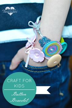 Easy bracelets craft for kids from @alicanwrite