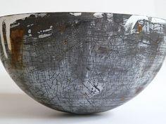 vitreous enamel vessels by Helen Carnac