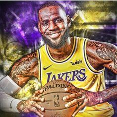 Black Art · NBA Art · Black Art Pictures · NBA Players · NBA Teams King Lebron James, Lebron James Lakers, King James, Nfl Sports, Sports Art, Black Art Pictures, Black Artwork, Nba Players, College Basketball