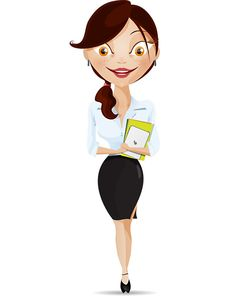 Cute vector business woman released today for free download! We did a great job and now we share the vector files with the community. Vector business woman cha