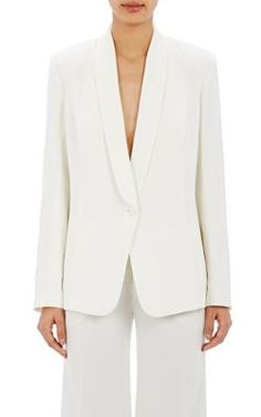 Nili Lotan Crepe Tuxedo Jacket at Barneys New York