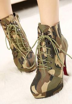 high heel boots,Zipper combat boots women military boots,
