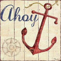4 Nautical Themed Sailing Art Prints Sailboat Boating Decor 12 x 12 Nautical Art, Nautical Nursery, Metal Tree Wall Art, Canvas Wall Art, Boot Dekor, Les Hamptons, Beach House Signs, Vintage Canvas, Beach Art