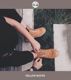 Amarre os cadarços das suas Yellow Boots e parta para a próxima aventura!