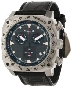 Montrek Unisex M41.1212.L411 CR1 Chronograph Swiss Quartz Watch ** Find out more about the great product at the image link.