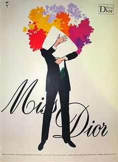 Rene Gruau's fashion and perfume art in the mid-20th century will never cease to inspire me