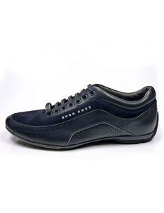 Hugo Boss 50285540 schoenen - blauw vind je bij Emmen schoenen de (online) winkel voor mooie schoenen