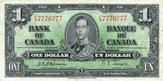 20 Dollars 1937 (George VI) Kanada Monarchie im Commonwealth of Nations Canadian Coins, Canadian History, Coins Worth Money, Coin Worth, Old Money, Canada, One Dollar, George Vi, Old Coins