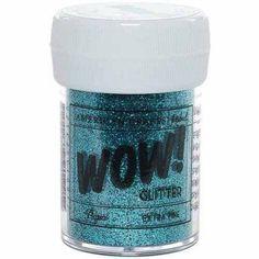 WOW! Extra Fine Glitter, 1 oz, Blue