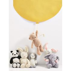 Up up and away! Your newborn will be happily entertained with these soft cuddly teddies and toys.
