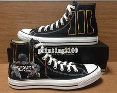 custom conversecall of duty black ops 3 by Painting2100 on Etsy