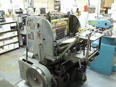 Sundance Printing's New Miehle V-50 letterpress