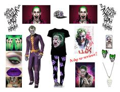 """Why so Serious?"" by livelifeloud24 on Polyvore"